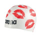 arena Poolish Moulded Swimming Cap kisses white-red